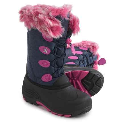 Kamik Snowgypsy Pac Boots - Waterproof, Insulated (For Little and Big Girls) in Navy - Closeouts
