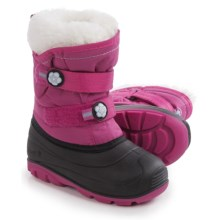 Kamik Snowjoy Pac Boots - Waterproof (For Toddlers) in Magenta - Closeouts