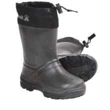 Kamik Snowkone 5 Rubber Rain Boots - Insulated (For Youth Boys and Girls) in Khaki - Closeouts