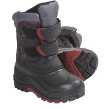 Kamik Snowrider Winter Boots - Waterproof, Insulated (For Kid Boys and Girls) in Black - Closeouts