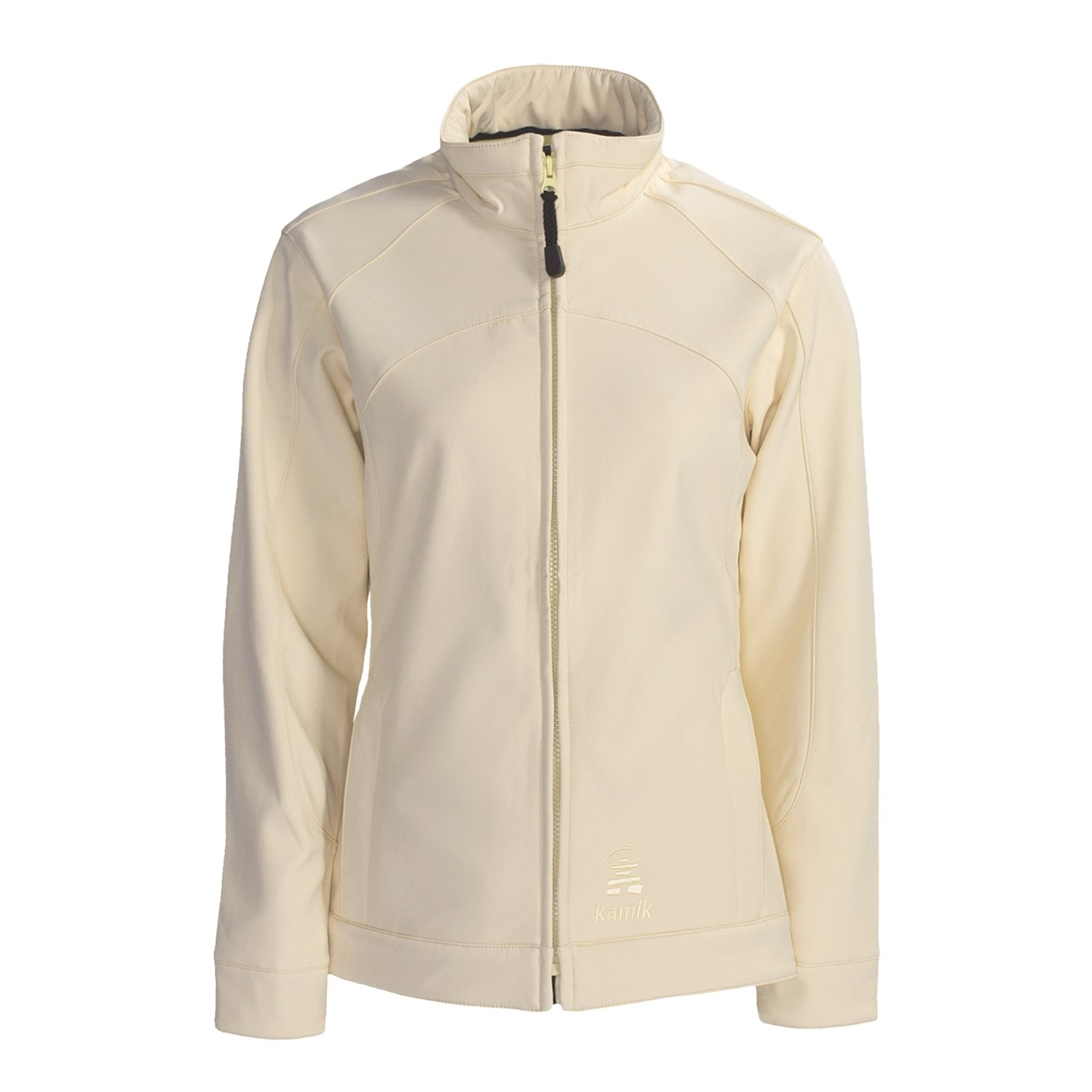 kamik soft shell jacket for women in ivory. Black Bedroom Furniture Sets. Home Design Ideas