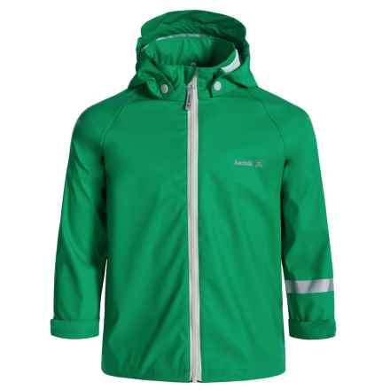 Kamik Solid Rain Jacket - Waterproof (For Little Kids) in Bright Green - Closeouts