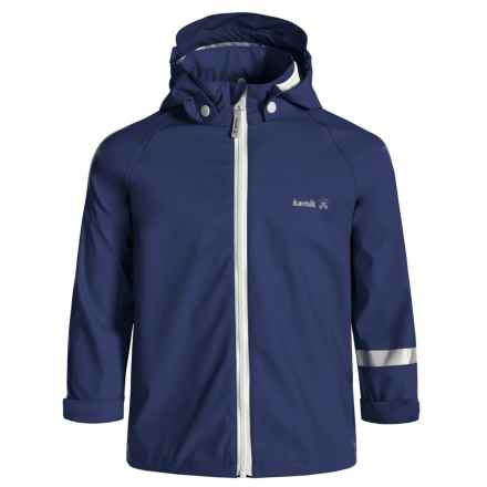 Kamik Solid Rain Jacket - Waterproof (For Toddlers) in Blue Depths - Closeouts