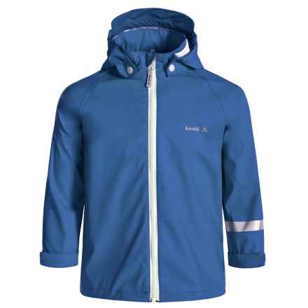 Kamik Solid Rain Jacket - Waterproof (For Toddlers) in Strong Blue - Closeouts