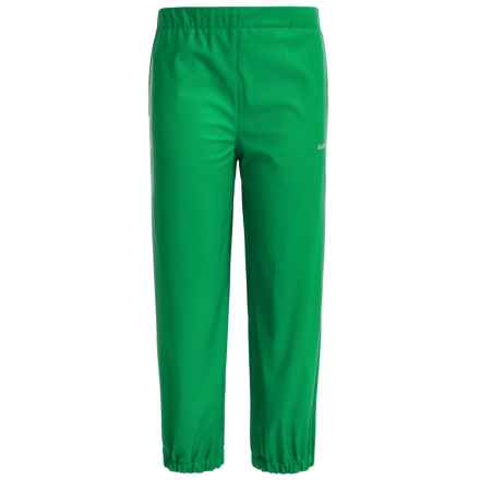 Kamik Solid Rain Pants - Waterproof (For Toddlers) in Bright Green - Closeouts