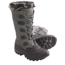 Kamik Solitude3 Winter Boots - Waterproof, Insulated (For Women) in Nickel - Closeouts