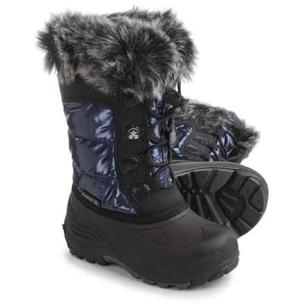 Kamik Solstice Pac Boots - Insulated (For Toddler Girls) in Navy - Closeouts