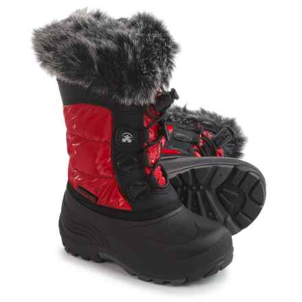 Kamik Solstice Pac Boots - Insulated (For Toddler Girls) in Red - Closeouts
