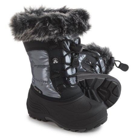 Kamik Solstice Pac Boots - Insulated (For Toddler Girls) in Silver