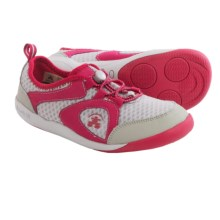 Kamik Speedy Sneakers (For Big Kids) in Dark Pink - Closeouts