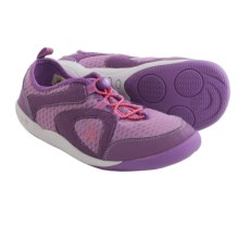 Kamik Speedy Sneakers (For Big Kids) in Purple - Closeouts