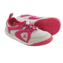 Kamik Speedy Sneakers (For Toddlers) in Dark Pink - Closeouts