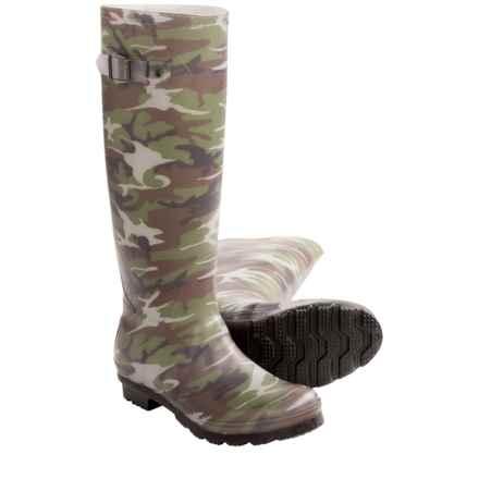 Kamik Squad Rain Boots - Waterproof (For Women) in Camo - Closeouts