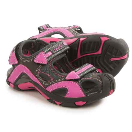 Kamik Squid Sport Sandals (For Little and Big Kids) in Fushia - Closeouts