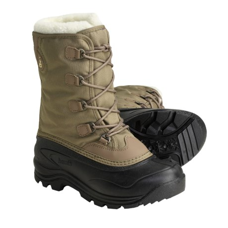 Kamik Stormboot Pac Boots - Waterproof, Insulated (For Women) in Taupe