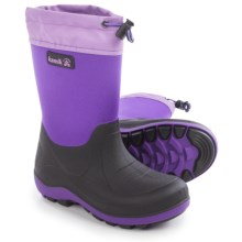 Kamik Stormin' Rain Boots (For Little and Big Kids) in Purple - Closeouts