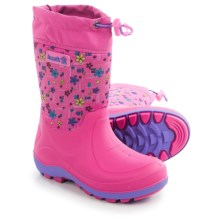 Kamik Stormin2 Rain Boots - Waterproof, Insulated (For Toddlers) in Magenta/Blue - Closeouts