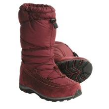 Kamik Stratford Winter Boots - Waterproof (For Women) in Burgundy - Closeouts