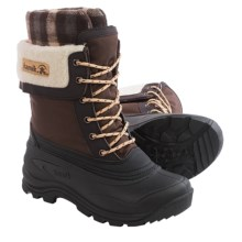 Kamik Sugarloaf Pac Boots - Waterproof, Insulated (For Women) in Dark Brown - Closeouts