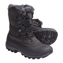 Kamik Sunapee Pac Boots - Waterproof, Insulated (For Women) in Black - Closeouts