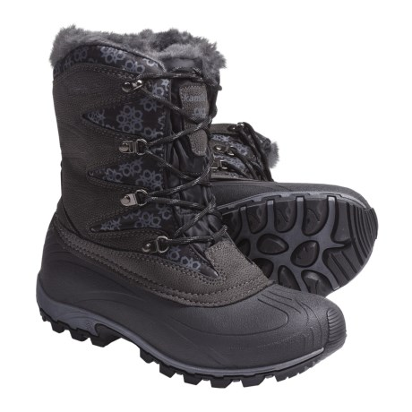 Kamik Sunapee Pac Boots - Waterproof, Insulated (For Women) in Black