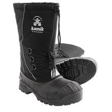 Kamik Supreme Pac Boots - Insulated (For Men) in Black - Closeouts