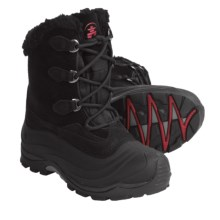 Kamik Sutton Winter Pac Boots - Waterproof, Insulated (For Women) in Black - Closeouts