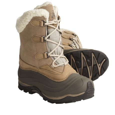 Kamik Sutton Winter Pac Boots - Waterproof, Insulated (For Women) in Tan