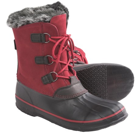 Kamik Temptress Snow Boots - Waterproof, Insulated (For Women) in Red