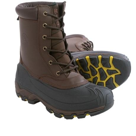 Kamik Thinsulate® Habitant Snow Boots - Waterproof (For Men) in Dark Brown