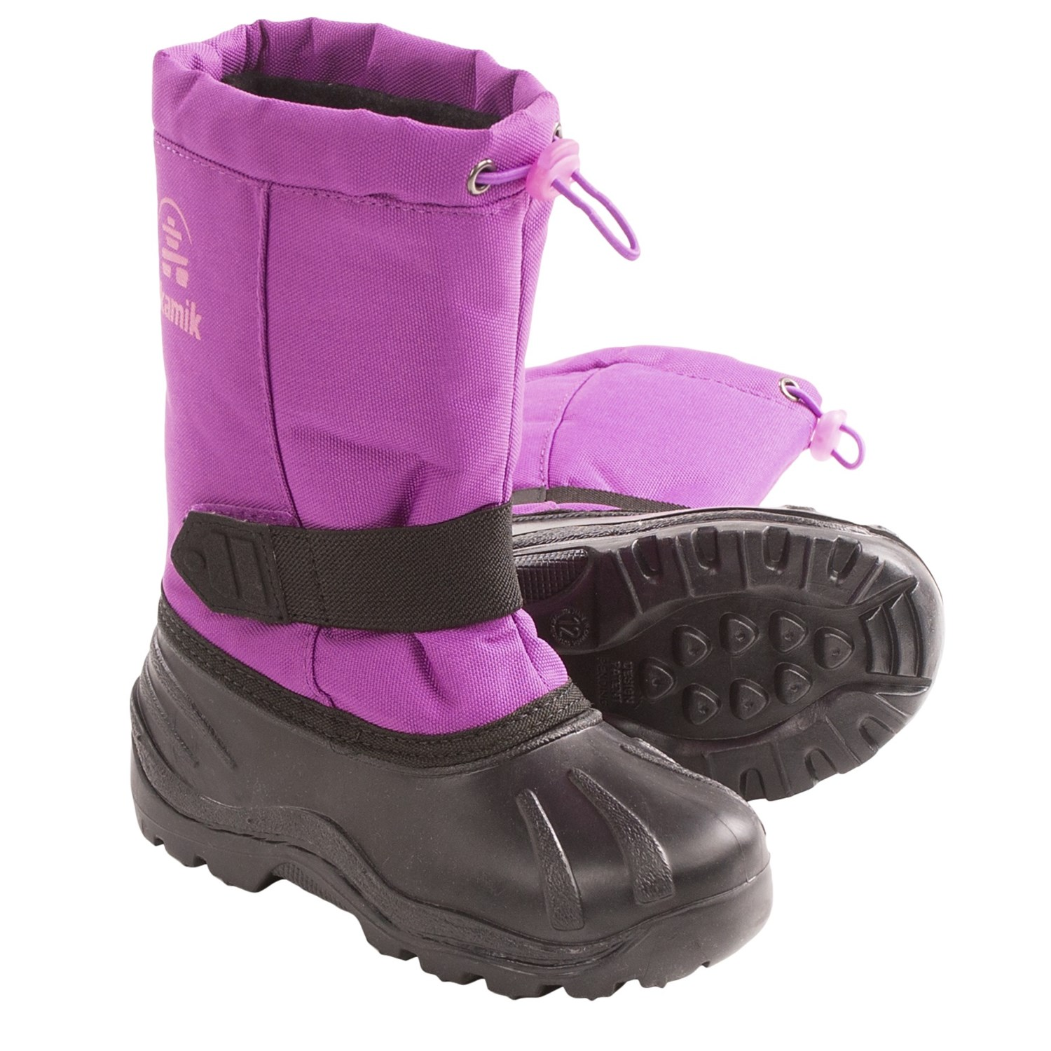 Kamik Tickle Snow Boots - Waterproof, Insulated (For Youth