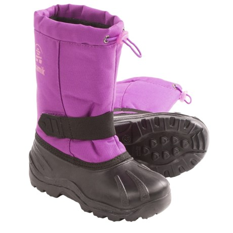 Kamik Tickle Snow Boots - Waterproof, Insulated (For Youth Boys and Girls) in Violet