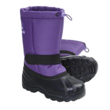 Kamik Tickle Winter Boots - Waterproof, Insulated (For Youth Boys and Girls) in Purple - Closeouts