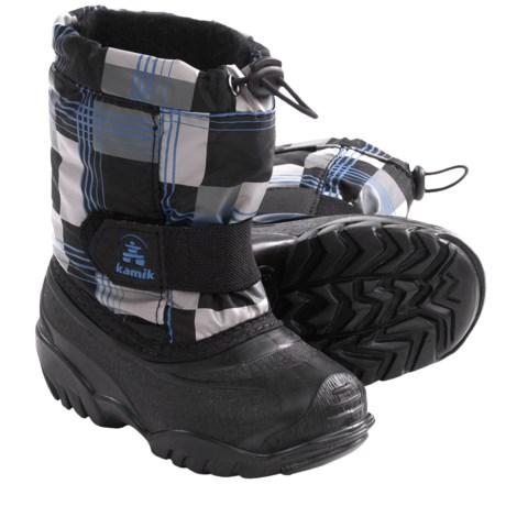 Kamik Tickle4 Pac Boots - Waterproof (For Kids) in Black