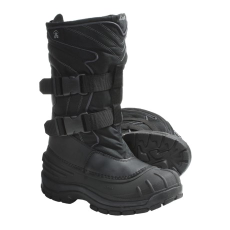 Kamik Two-Strap Pac Boots (For Men) in Black