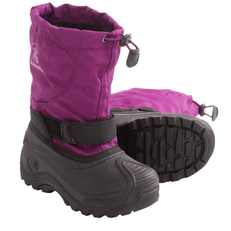 Kamik Upsurge Winter Pac Boots - Waterproof (For Youth Girls) in Berry