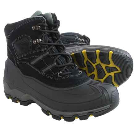 Kamik Warrior Snow Boots - Waterproof, Insulated (For Men) in Black - Closeouts