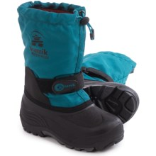 Kamik Waterbug 5 Pac Boots - Insulated (For Toddlers) in Ink - Closeouts