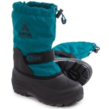 Kamik Waterbug5  Pac Boots - Waterproof, Wide Width, Insulated (For Little and Big Kids) in Ink - Closeouts