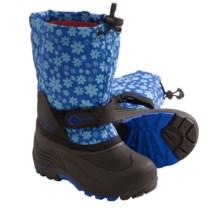 Kamik Waterbug6 Winter Boots - Waterproof (For Little Girls) in Laser - Closeouts