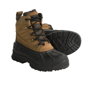 Kamik Wausau Winter Boots - Waterproof, Insulated (For Women) in Taupe