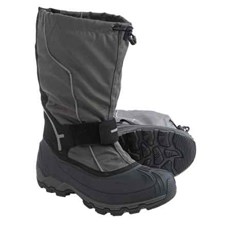 Kamik Whitehills Pac Boots - Waterproof, Insulated (For Men) in Charcoal - Closeouts
