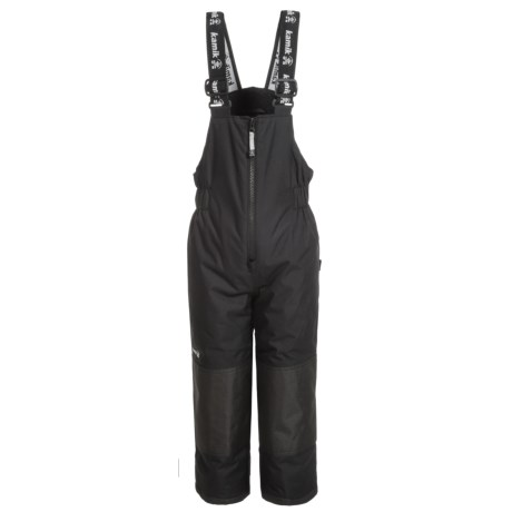 Kamik Winkie Pants - Insulated (For Little Kids) in Black