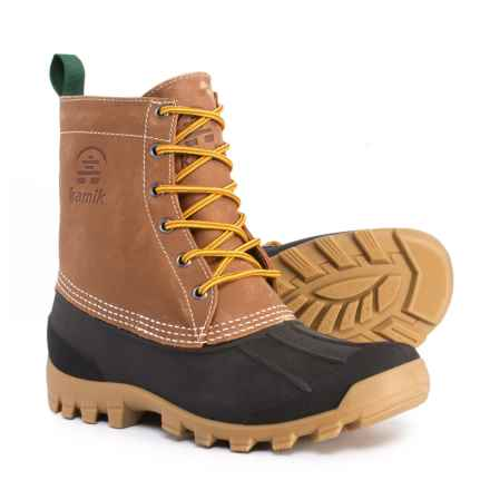 Kamik Yukon 6 Pac Boots - Waterproof, Insulated (For Men) in Tan - Closeouts