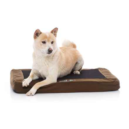 """K&H Pet Products K&H Pet Comfy N' Dry Indoor-Outdoor Pet Bed - 18x26"""" in Chocolate - Closeouts"""