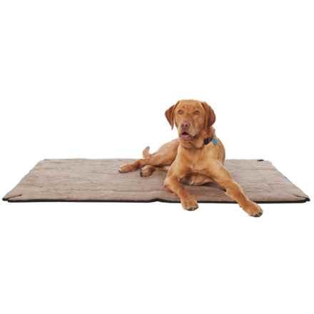 "K&H Pet Products K&H Pet Memory-Foam Dog Crate Pad - 37x54"" in Mocha - Closeouts"