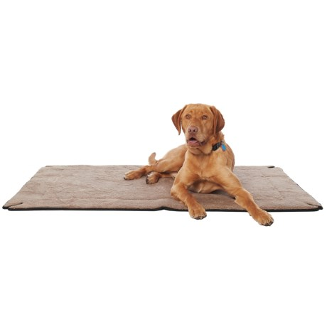 "K&H Pet Products K&H Pet Memory-Foam Dog Crate Pad - 37x54"" in Mocha"