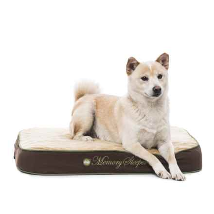 """K&H Pet Products K&H Pet Memory Sleeper Dog Bed - 18x26"""" in Mocha - Closeouts"""