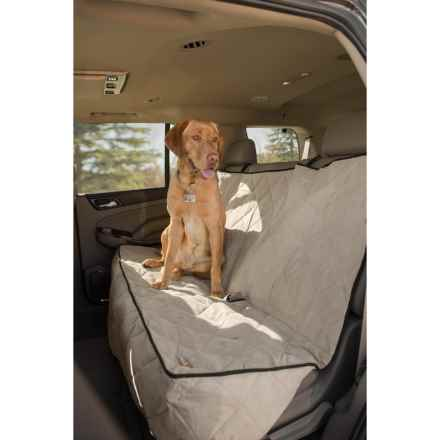 "K&H Pet Products Quilted Car Seat Cover - 57"", Extra Long in Tan - Closeouts"
