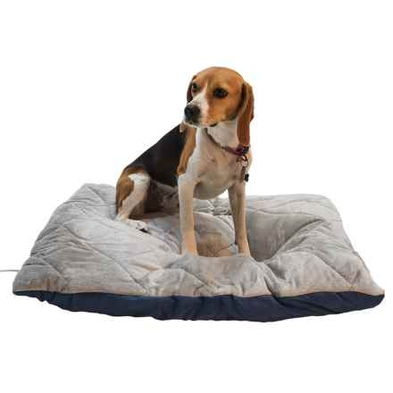 "K&H Pet Quilted Thermo Dog Bed - 29x26"" in Blue/Gray - Closeouts"
